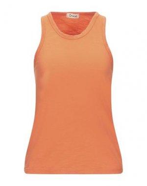 Майка DIXIE. Цвет: оранжевый