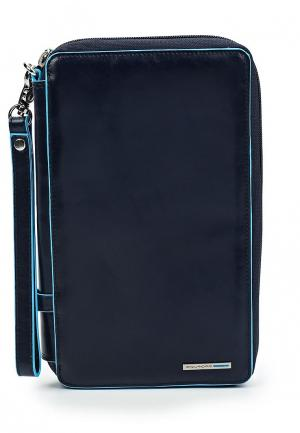 Кошелек Piquadro BLUE SQUARE. Цвет: синий