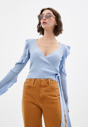 Пуловер adL. Цвет: голубой