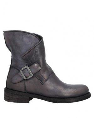 Полусапоги и высокие ботинки FELMINI. Цвет: свинцово-серый