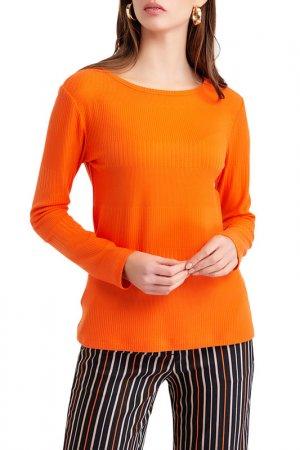 Пуловер BGN. Цвет: оранжевый