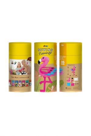 Набор для шитья Фламинго Avenir. Цвет: желтый