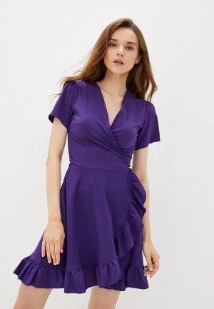 Платье Emansipe. Цвет: фиолетовый