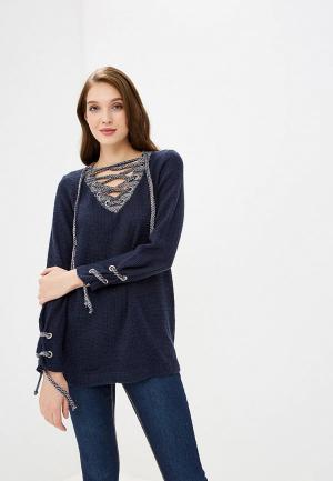 Пуловер Tantino. Цвет: синий