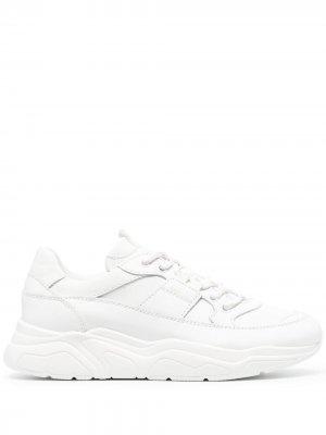 Doucals кроссовки на шнуровке Doucal's. Цвет: белый