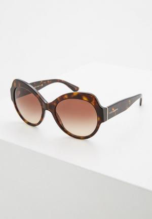 Очки солнцезащитные Dolce&Gabbana DG4320 502/13. Цвет: коричневый