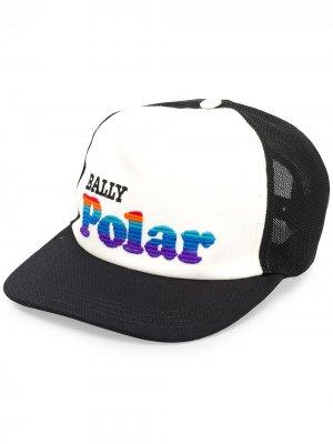 Бейсболка Polar Bally. Цвет: черный
