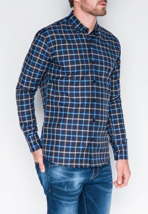 Рубашка Ombre. Цвет: разноцветный