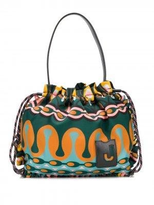 Большая сумка-тоут Coulisse La Doublej. Цвет: зеленый