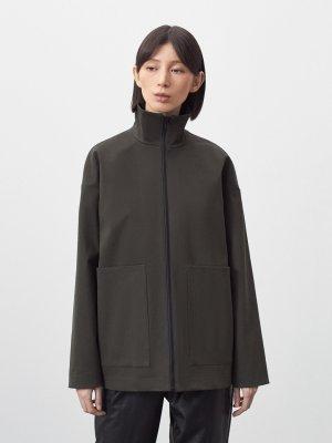Куртка Элиста с большими карманами GATE31. Цвет: хаки