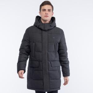 Куртка Пуховик Lacoste. Цвет: серый
