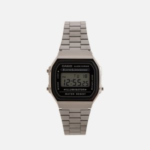 Наручные часы Collection A168WEGG-1AEF CASIO. Цвет: серебряный
