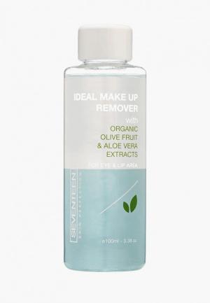 Средство для снятия макияжа Seventeen глаз и губ двухфазное Ideal Make Up Remover, 100 мл. Цвет: прозрачный
