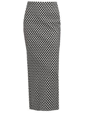 Длинная юбка-карандаш из шерсти HAIDER ACKERMANN