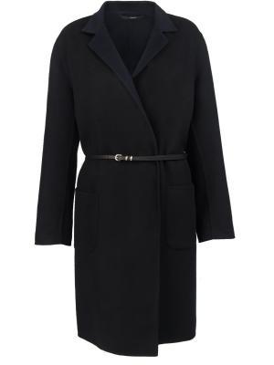 Шерстяное пальто High. Цвет: черный