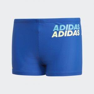 Плавки-боксеры Lineage Performance adidas. Цвет: желтый
