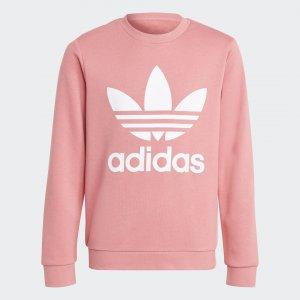 Джемпер Trefoil Originals adidas. Цвет: белый
