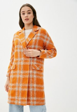 Пальто Mira Rico. Цвет: оранжевый