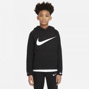 Худи для мальчиков школьного возраста Nike Sportswear Swoosh - Черный