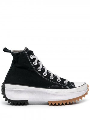 Высокие кроссовки Run Star Hike Smoked Converse. Цвет: черный