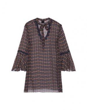 Блузка ANNA SUI. Цвет: темно-синий