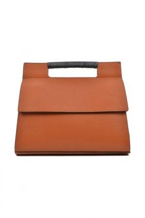 Handbag CARLA FERRERI. Цвет: orange