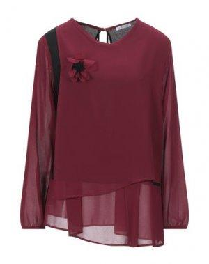 Блузка CANNELLA. Цвет: красно-коричневый