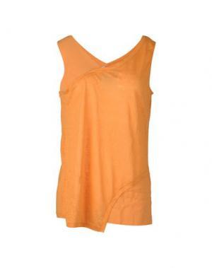 Майка CRUCIANI. Цвет: оранжевый