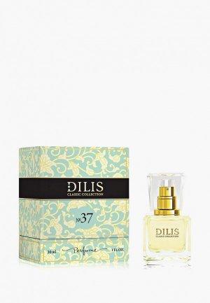 Духи Dilis Parfum Classic Collection № 37, 30 мл. Цвет: прозрачный