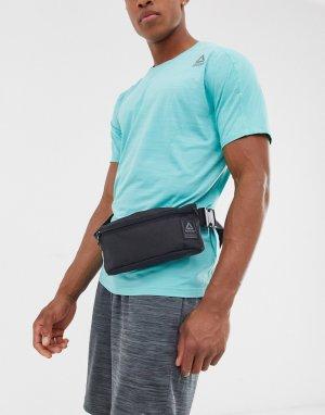 Черная сумка-кошелек на пояс -Черный Reebok