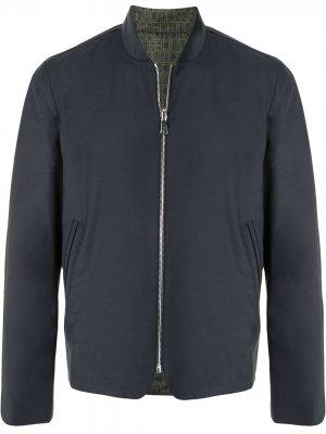 Куртка-бомбер Cerruti 1881. Цвет: синий