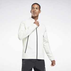 Куртка-бомбер rmowarm+Graphene Edgeworks Reebok. Цвет: chalk