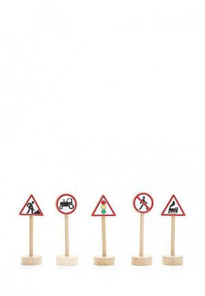 Набор игровой Paremo Дорожные знаки, 20 шт.. Цвет: разноцветный