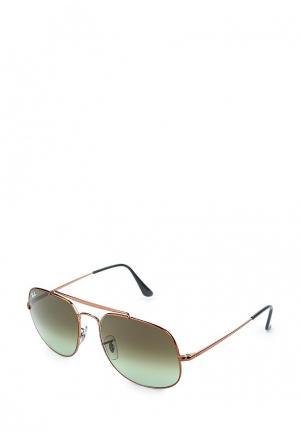 Очки солнцезащитные Ray-Ban® RB3561 9002A6. Цвет: золотой