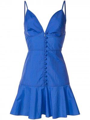 Платье мини Abira Alexis. Цвет: синий