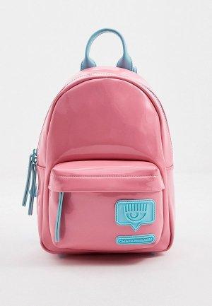 Рюкзак Chiara Ferragni. Цвет: розовый