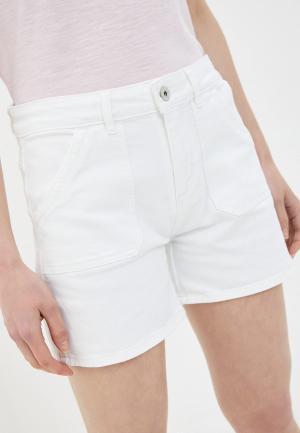 Шорты джинсовые Ichi. Цвет: белый