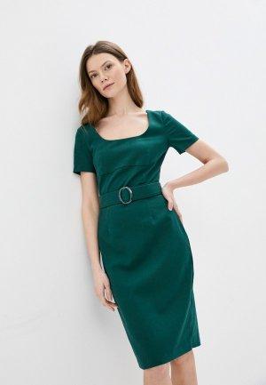 Платье Kira Plastinina. Цвет: зеленый