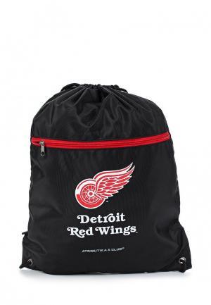 Мешок Atributika & Club™ NHL Detroit Red Wings. Цвет: черный