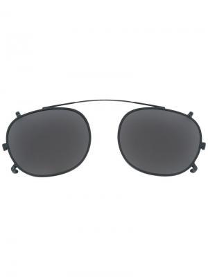 Солнцезащитные очки Lemtosh Moscot. Цвет: чёрный