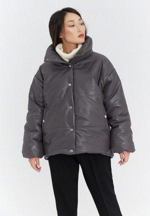 Куртка утепленная Ligio. Цвет: серый