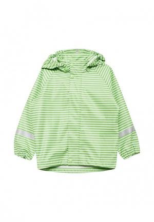 Куртка Reima Vesi. Цвет: зеленый
