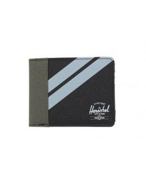 Бумажник HERSCHEL SUPPLY CO.. Цвет: черный