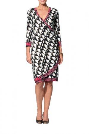 Платье Apart. Цвет: черный, мультицвет