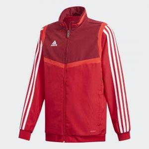 Парадная куртка Tiro 19 Performance adidas. Цвет: красный