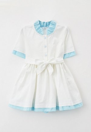 Платье Ete Children. Цвет: белый
