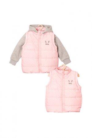 Куртка для девочек 5.10.15.. Цвет: розовый