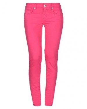 Джинсовые брюки DENNY ROSE. Цвет: фуксия