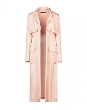 Легкое пальто FRANCESCA PICCINI. Цвет: лососево-розовый