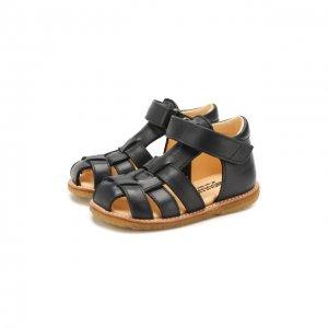 Кожаные сандалии Angulus. Цвет: синий
